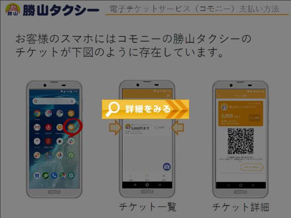 電子チケットサービス(コモニー)支払い方法