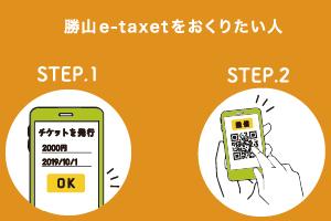 勝山e-taxetを送りたい方へ