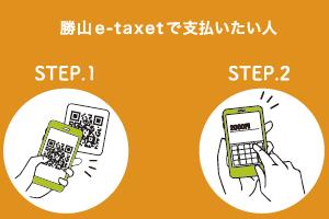 勝山e-taxetを支払いたい人